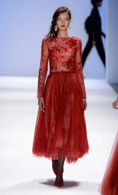 Tadashi Shoji designs for women at NYC Fashion Week