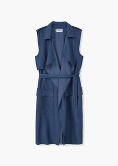499 kr Soft fabric vest   MANGO