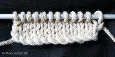 Kabelopslag - et mere elastisk strikkeopslag My Gems, Bind Off, Circular Knitting Needles, Knitting For Beginners, Hobbies And Crafts, Knitting Patterns, Knitting Tutorials, Knit Crochet, Embroidery