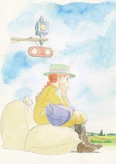 『赤毛のアン』LDボックス用イラスト 1992年 ©NIPPON ANIMATION CO., LTD.