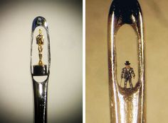 A arte microscópica de Willard Wigan 12