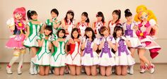 PreCure All Stars - Morning Musume '15 singen Theme Song - http://sumikai.com/news/mangaanime/precure-stars-morning-musume-15-singen-theme-song-3851568/