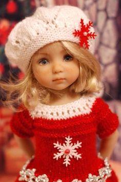Loom Knitting, Knitting Ideas, Baby Knitting Patterns, American Girl Accessories, American Girl Clothes, Crochet Baby, Knit Crochet, Disney Dolls, Little Darlings