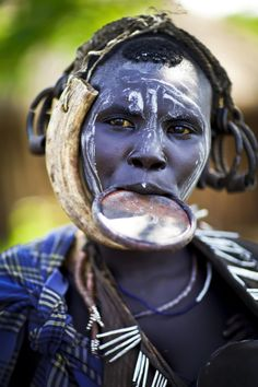 Mursi woman - Ethiopia by Steven Goethals on 500px