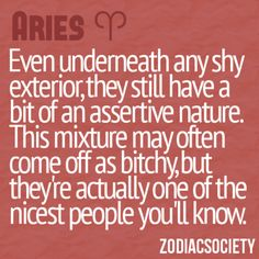 Truth about aries