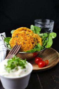 Vegane Gemüse Patties - Marisa's Table