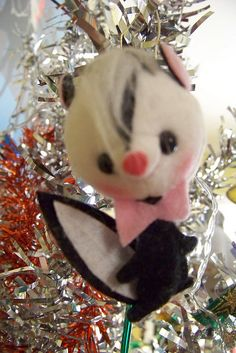 66 best SKUNK ORNAMENTS images on Pinterest | Christmas gifts ...