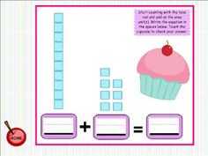 Cupcake Place Value SMART BOARD Game for the Little Ones