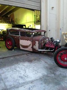 Ford : Model A sedan 1930 ford model a rat rod - http://www.legendaryfinds.com/ford-model-a-sedan-1930-ford-model-a-rat-rod/
