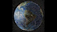 Earth Photo Collage: What 1,400 People Waving Looks Like From Saturn