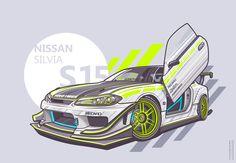 Silvia S15 on Behance