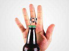. Anillo abridor de botellas: