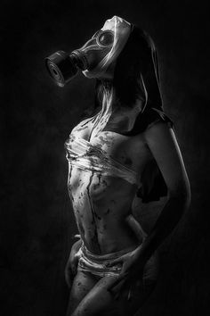 """black white Madness"" 