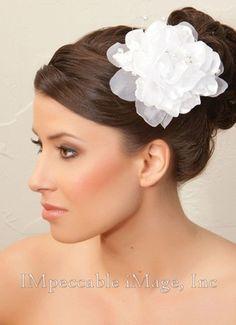 $28.00 Hair flower at www.forprincessbride.com