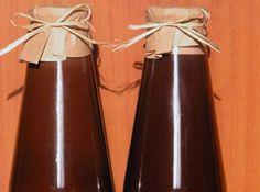 Receita de Batida de chocolate - 1 lata de leite condensado, 1/2 lata de aguardente ( pinga, cachaça), 1/2 lata de licor de cacau, 3 colheres ( sopa) de chocolate em pó, 1 pitada de canela em pó.