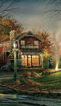 Terry Redlin Aroma of Fall Pinnacle