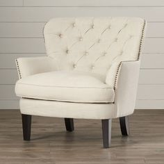 Lark Manor Celestin Flour Upholstered Club Chair
