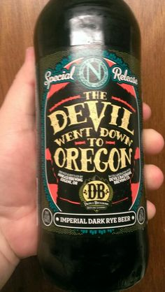 Ninkasi Brewing Conpany The Devil went down to Oregon Imperial Dark Rye Beer