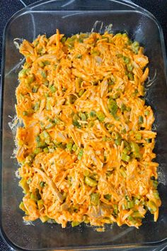 Buffalo Chicken Frito Pie is an easy casserole recipe using shredded rotisserie chicken and diced celery tossed in Buffalo sauce and ranch dressing, all topped with Fritos corn chips and cheese. Chicken Bacon Ranch Bake, Cheesy Chicken Casserole, Buffalo Chicken, Recipes Using Rotisserie Chicken, Frito Pie, Bbq Bacon, Easy Casserole Recipes, How To Cook Chicken, Diet Recipes