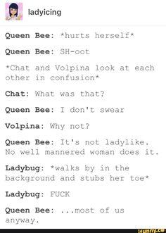 Lol most of us. I almost forgot she idolized Ladybug