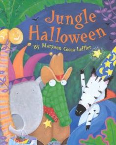 Fall Session 2013, Week 8: Jungle Halloween-Maryann Cocca-Leffler