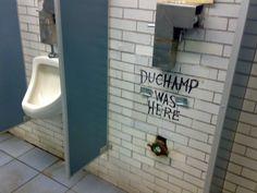 Duchamp has left the building
