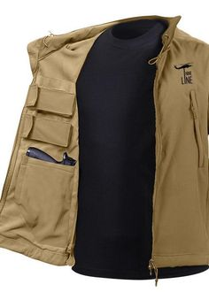 Concealed carry soft shell jacket with waterproof and lightweight shell. Perfect for inclined weather and everyday carry. Shop today for THE concealment solution! 9mm Holster, Holster Shirt, Knife Holster, Women Concealed Carry Clothing, Concealed Carry Jacket, Outdoor Wear, Outdoor Outfit, Nine Line Apparel, Jackets For Women