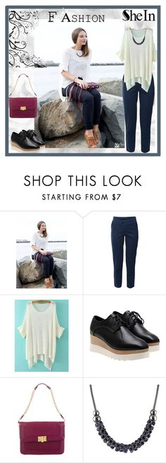 """""""Sheinside.com 3"""" by zijadaahmetovic ❤ liked on Polyvore featuring AV by Adriana Voloshchuk and Rebecca Minkoff"""