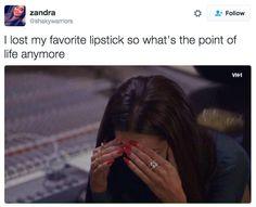 Cuando sucede lo peor: | 21 fotos que las chicas con la cara lavada no entenderán