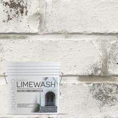 ROMABIO 0.67 gal. Avorio White Limewash Interior/Exterior Paint-1012E2 - The Home Depot