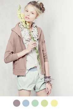 J.Crew Spring 2010 on Color Collective