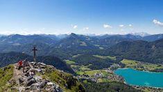 Salzkammergut Mehrtageswanderweg: Frauenkopf mit Blick auf Fuschlsee Seen, Central Europe, Salzburg, Capital City, Alps, Austria, To Go, Germany, Hiking