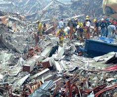 During the chaos of the attacks nearly 100 loyal search and rescue dogs and their brave owners scoured Ground Zero for survivors. Just 12 survive and have had a moving tribute made to them. World Trade Center Attack, World Trade Center Site, Search And Rescue Dogs, Dog Search, Ground Zeroes, September 11, God Bless America, Dog Photos, Dogs