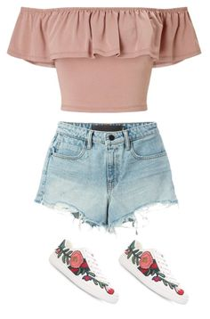 """""""Untitled #682"""" by maritzawaffles on Polyvore featuring Miss Selfridge, T By Alexander Wang and Gucci"""