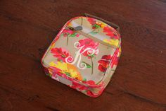 Lunch Box Monogrammed Personalized by AbigailLeeHome on Etsy, $26.00