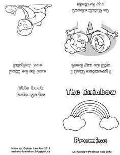New Promise for Girlguiding UK Sept 2013. Mini promise book for Rainbows made by Guider Lee Ann. http://owl-and-toadstool.blogspot.ca/2013/07/girlguiding-uk-new-promise.html