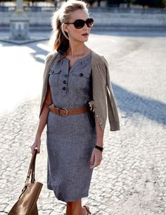 Love this dress and sweater