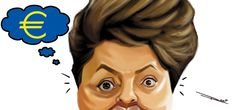 Dilma deseja fim da crise na Europa