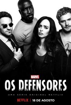 Os Defensores ganha novo pôster com quatro heróis reunidos | Notícia | Omelete