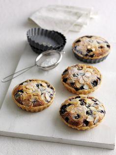 Delicious Blueberry and Frangipane tarts