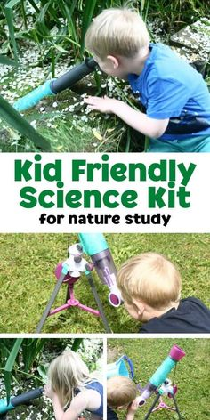 Looking for science equipment that kids can really use then check out this easy to use telescope and an aquascope that kids can investigate what is happening in a rock pool or the moon. Science Experiments For Preschoolers, Preschool Science Activities, Outdoor Activities For Kids, Science Activities For Kids, Cool Science Experiments, Teaching Science, Learning Activities, Teaching Kids, Science Ideas
