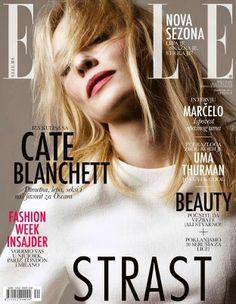 Cate Blanchett - Elle Magazine Cover [Serbia] (February 2014)