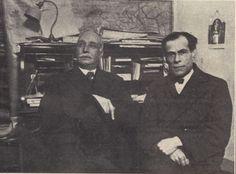 Raul Brandão e Teixeira de Pascoais (1928) - in Ilustração, n.º 52