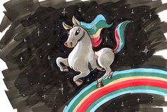 mark_sheard_RAINBOW Folk, Challenges, Rainbow, Animation, Colour, Creative, Painting, Art, Rain Bow