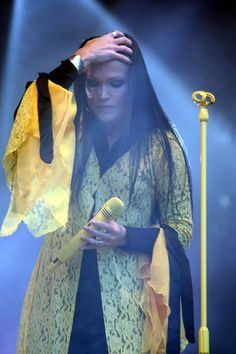 Tarja Turunen, Nightwish, My fave singer.... and first introduction to Symphonic Metal. Haven't been the same since.