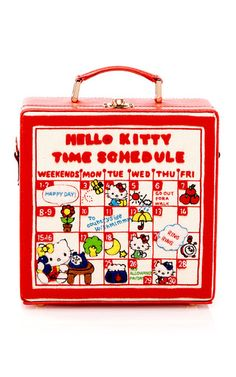 Time Schedule 7 Inch Handbag by OLYMPIA LE-TAN for Preorder on Moda Operandi