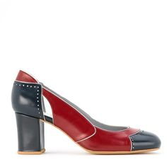 Mary Jane pumps - Red Sarah Chofakian e16BoulU