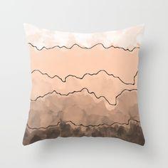 Blush Throw Pillow