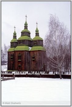 Old Church, Pirogovo, Ukraine