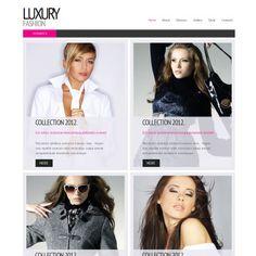 fashion facebook html cms template